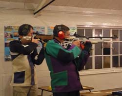 Members shooting a Detail